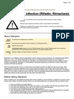 UK Patient Rifampicin Medication Leaflet