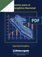 Apuntes Gas Electricidad 2014 SEGURIDAD ENEREGETICA
