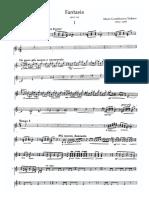 Guitar Part - Fantasia for Piano Guitar Op. 145 Castelnuovo-Tedesco