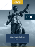 Súmulas STF-STJ Penal e Proc Penal