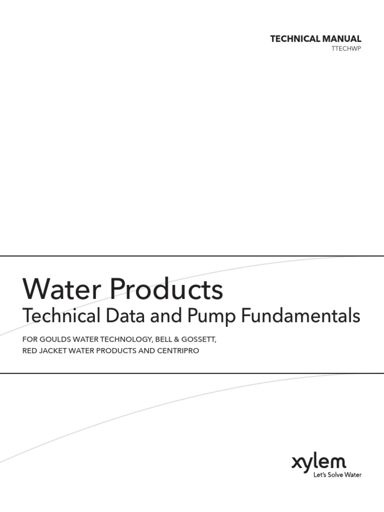 Goulds Ttechwp | Pump | Continuum Mechanics on