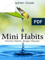 Mini Habits_Smaller Habits_Bigger Results