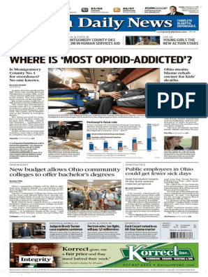 Dayton Daily News July 03 2017 | Medicaid | Government