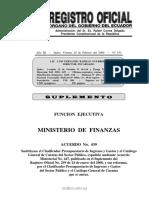 Clasificadores Presupuestarios y Plan de Cuentas