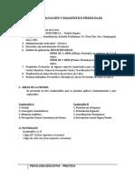 Evaluación y Diagnóstico Preescolar