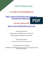Devry Acct 555 Entire Course