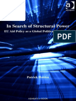 Patrick Holden in Search of Structural Power