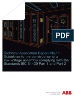 Guidelines to the Construction of a Low-Voltage Assembly Complying With the Standards IEC 61439 Part 1 and Part 2