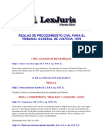 Reglas de Procedimiento Civil PR