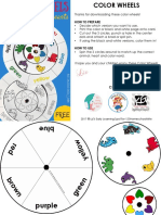 Color Matching Wheel