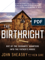 The Birthright by John Sheasby with Ken Gire, Excerpt