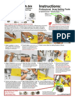 Snap Setter Kit Instruction Pages