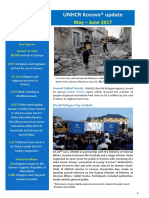UNHCR Kosovo External Update May_June 2017