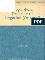 [Bimal Krishna. Matilal] the Navya-Nyaya Doctrine (B-ok.org)