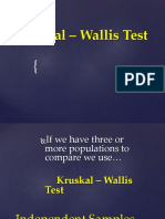 Kruskal – Wallis Test.pptx