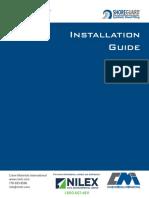 Nilex Sheet Piling Install Guide
