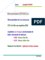 Assembly Msp430
