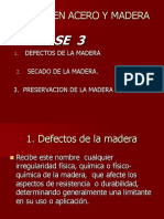 Clase 3 Madera