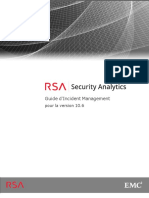 RSA Security Analytics Incident Management Guide