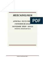 Apostila Para Mercadologia 2010.2.
