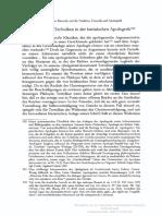 Apologetic vs Dialogische Techniken in Der Lateinischen Apologetik