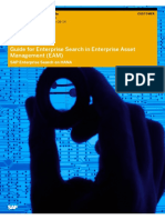 Guide for Enterprise Search in Enterprise Asset Management (EAM)