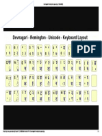 Devnagari Remington Layout