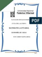 Guia de Matematica Actuarial 2017