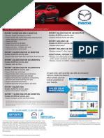 2016 Mazdacx3 Maintsheet e