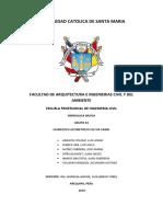 Informe Hidráulica Básica - Elementos Geométricos de Un Canal