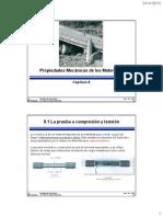 Capitulo 8 - Propiedades Mecánicas de Los Materiales