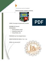 Informe Extrusion