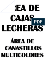 Letreros Para Área de Canastillos y Palets