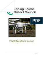 Uav Flights Operation Manual Ver.1
