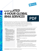 Expedited 4 Hour Global Rma Service