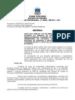 Sentença ACP Improbidade ACORDÃO TCE Ausência de Licitação Contas Aprovadas PROCEDÊNCIA DO PEDIDO