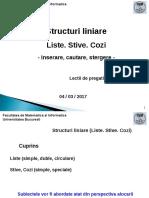 Structuri liniare