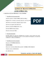 Ficha de Seguridad Acido Nitrico