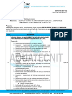 Cot 0467 Mantenimient Conafoviser