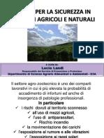 Il Rischio Per La Sicurezza in Ambienti Agricoli