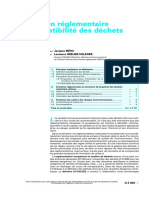 Classification Reglementaire