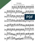 Preludio Cello