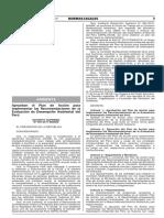 Plan de Acción Nro. DS 005-2017-MINAM