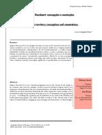 O Território Em Rogério Haesbaert_Concepções e Conotações 2017