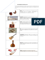 Instrumentos Musicales Isla de Pascua