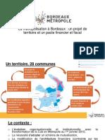 Présentation de Frédéric Garnier sur Bordeaux métropole