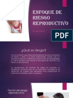 Enfoque de Riesgo Reproductivo