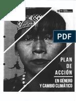 Plan de Accción en Género y Cambio Climático