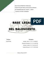 Base Legal Del Balonesto