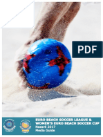 Euro Beach Soccer League Nazare 2017 - Media Guide